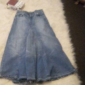 Ladies Drama Jeans Skirt